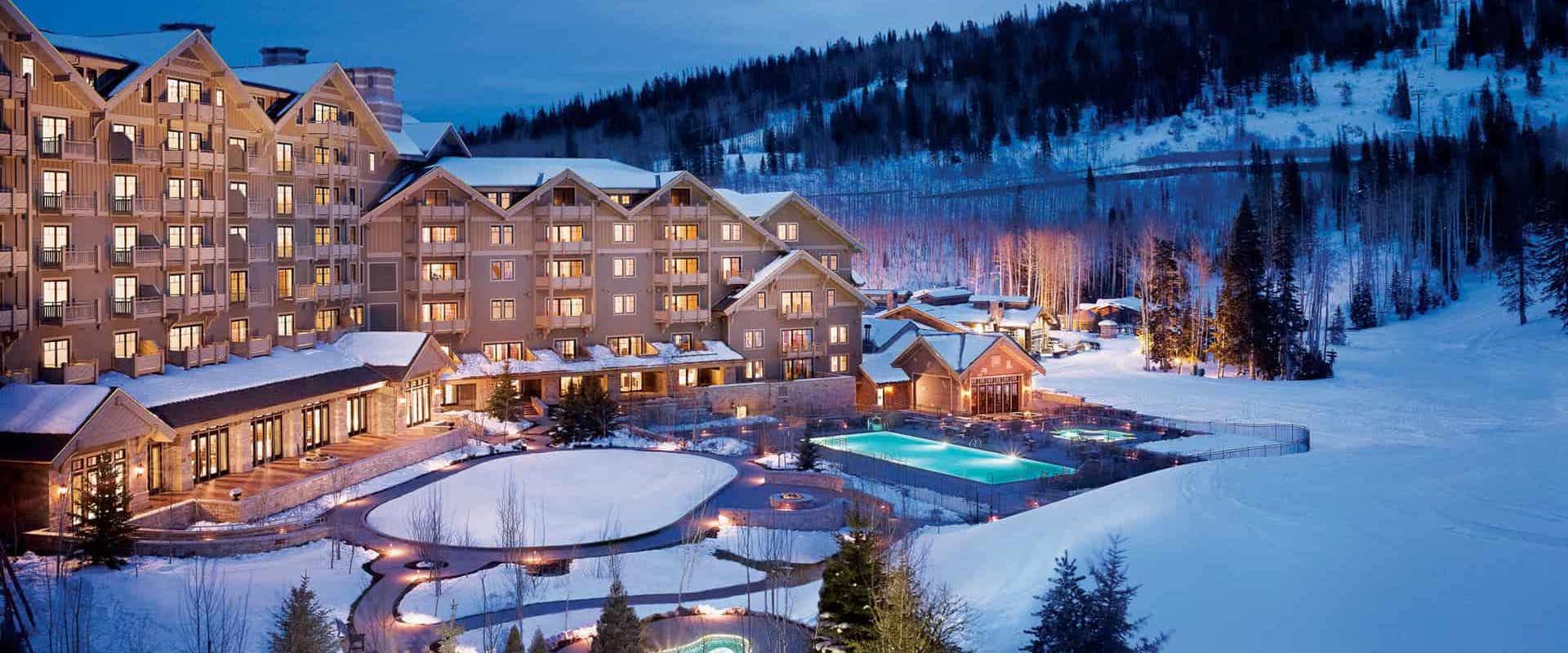 Top 10 der besten Luxus-Ski-In-Ski-Out-Hotels in den USA