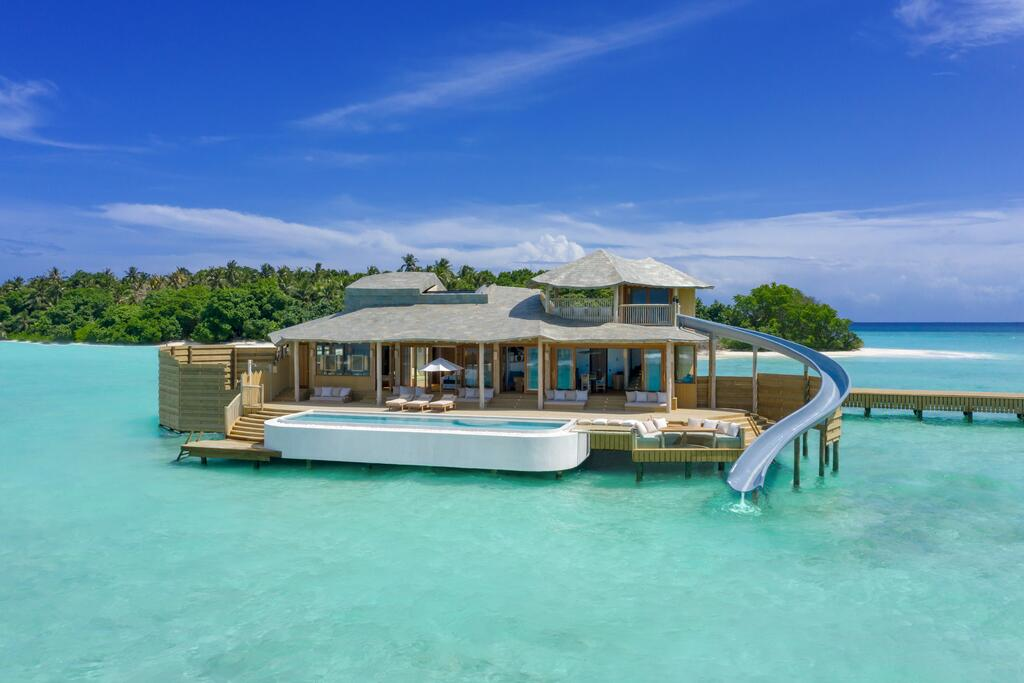 Soneva Fushi Two Bedroom Water Villa with Waterslide